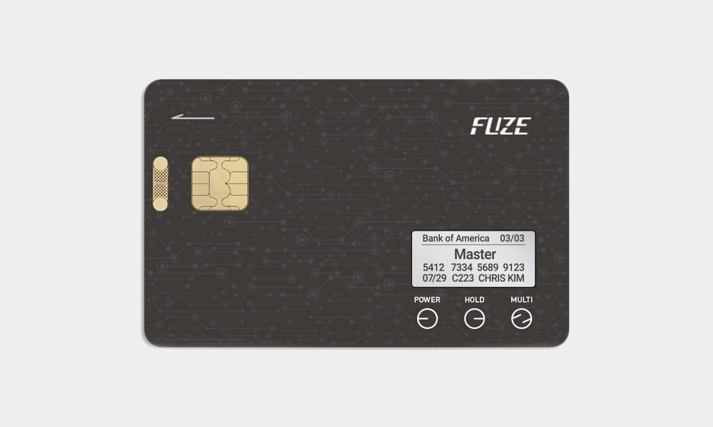 Fuze Card Smart Credit Card Main Shot