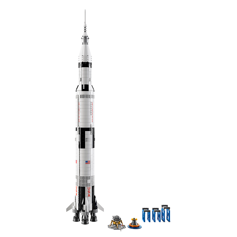 LEGO Ideas NASA Apollo Saturn V Kit