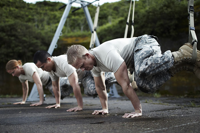 Workout Anywhere, Anytime with the TRX Tactical Gym