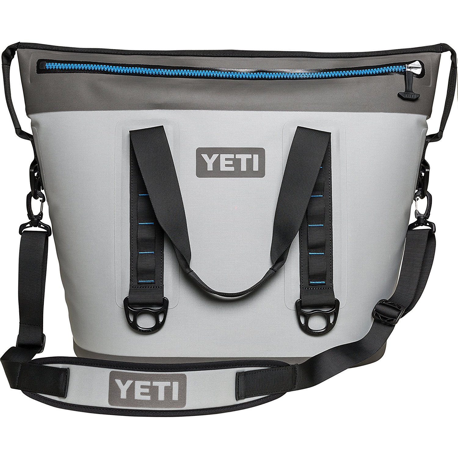 softshell cooler yeti hopper two front
