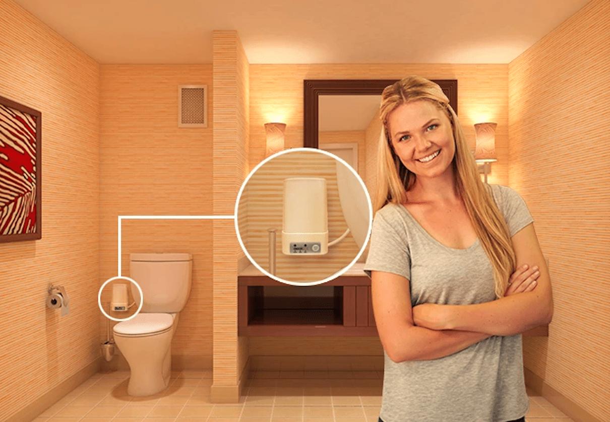The Odorless Toilet Fan Bathroom