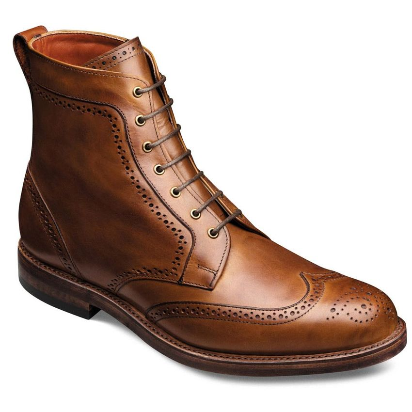 allen edmonds dalton wingtips walnut