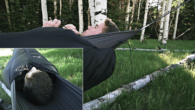 Mummypod is An All-in-One Camping Hammock and Sleeping Bag