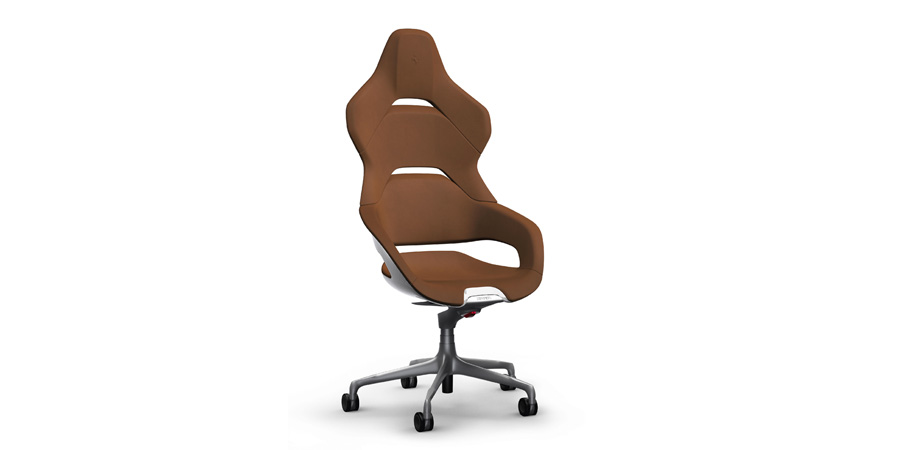 The Poltrona Frau Cockpit Office Chair Was Designed by Ferrari