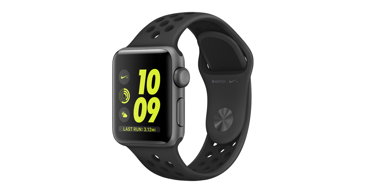 apple watch nike+ space gray