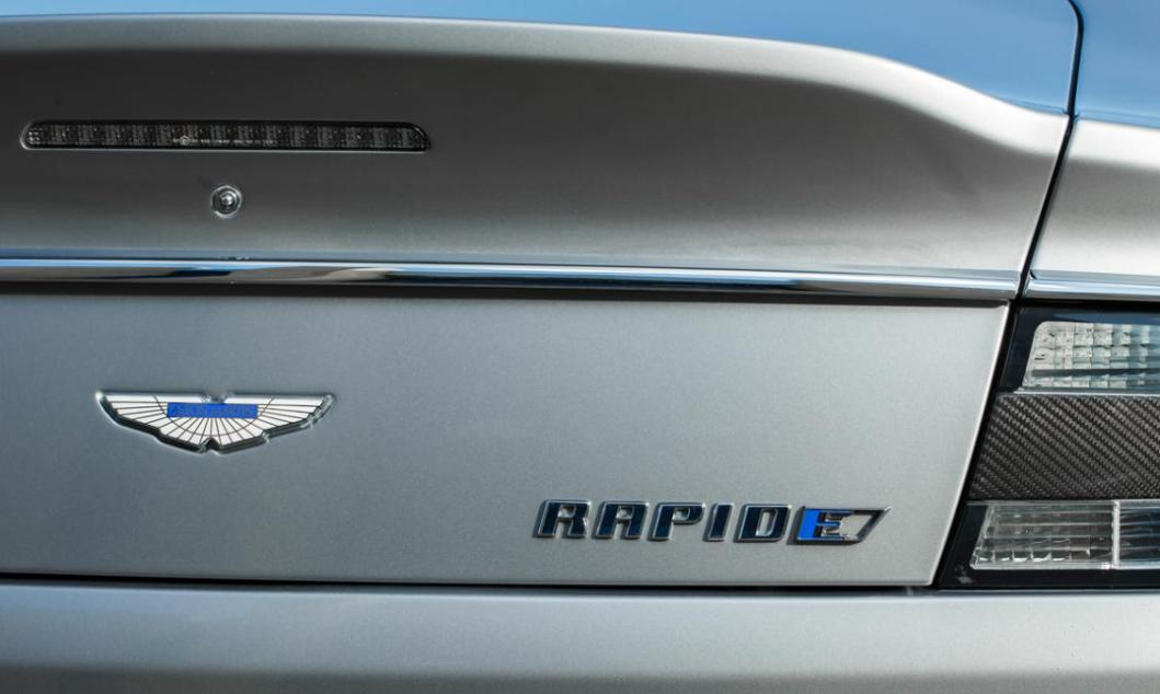 Aston Martin Just Announced The First Electric RapidE