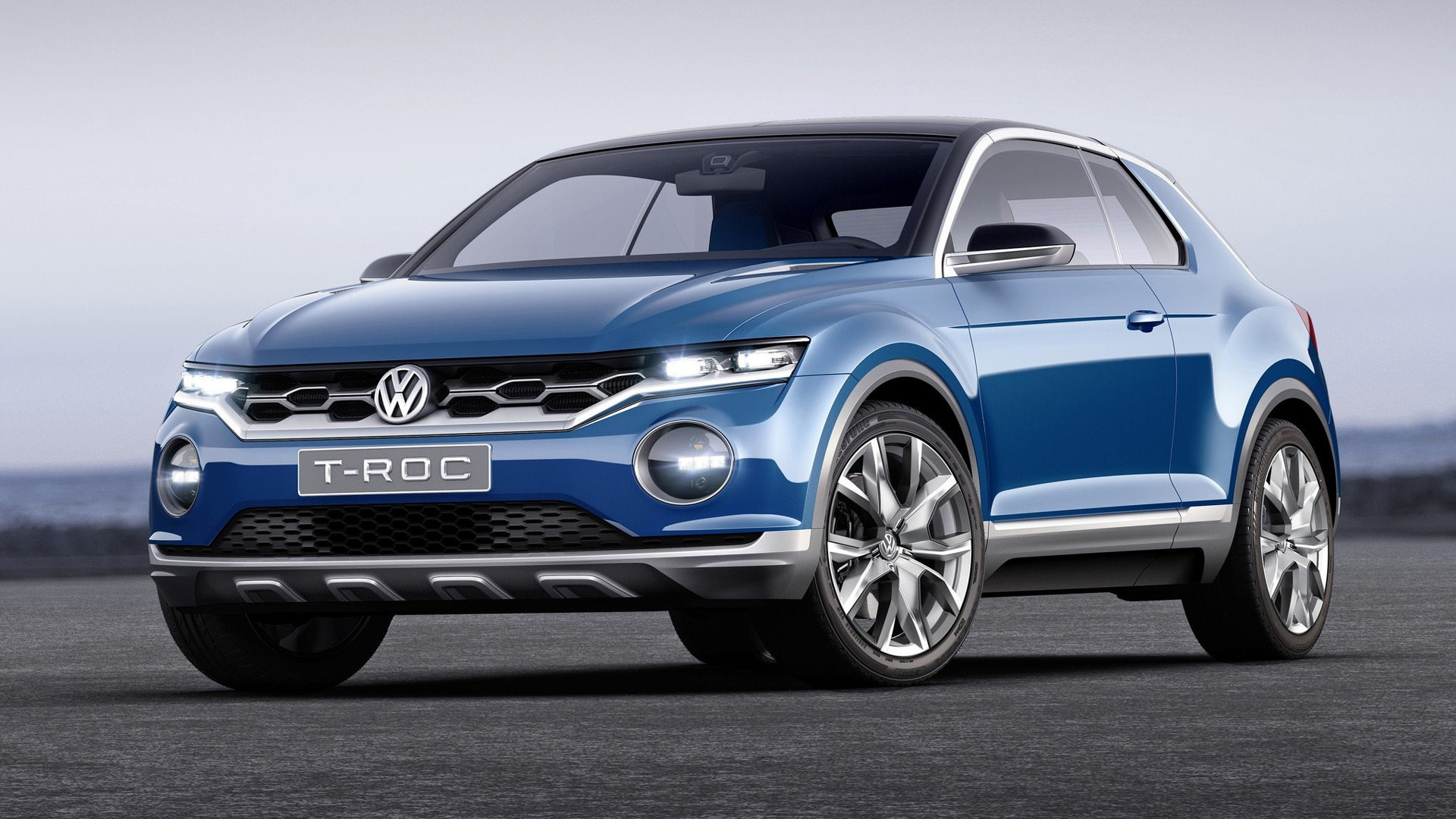 vw t-roc crossover SUV