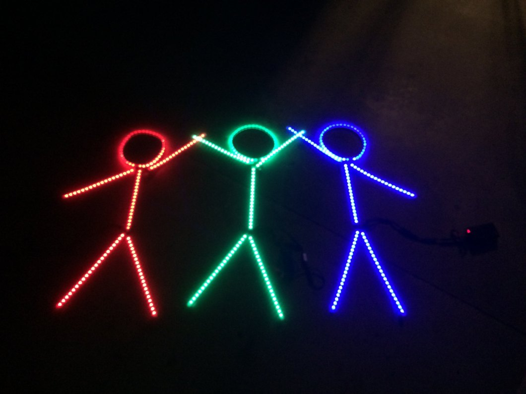 Halloween Costumes: Don't You Want to be an LED Stick Figure?