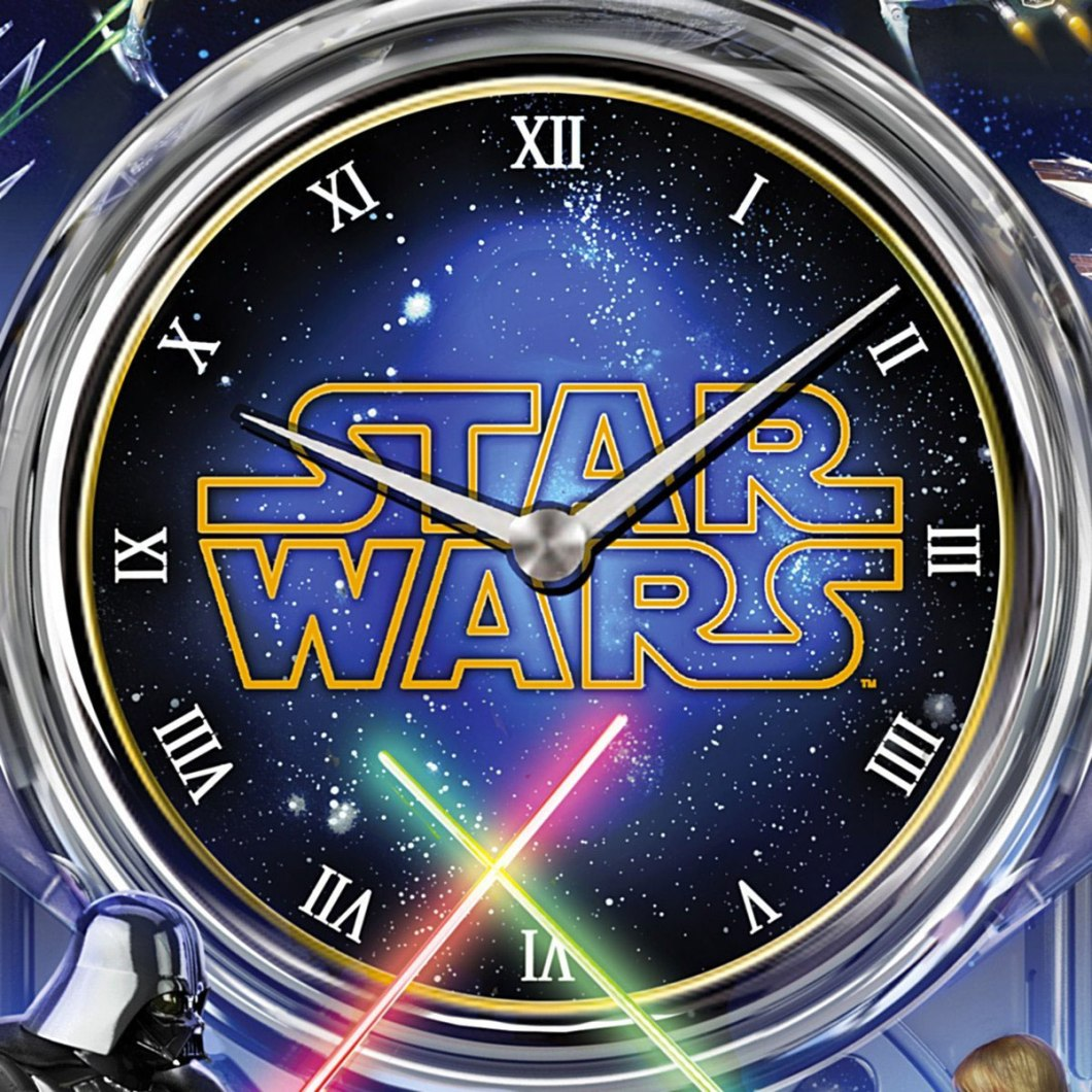 Star Wars Return of the Jedi Wall Clock: Ready for the Man Cave