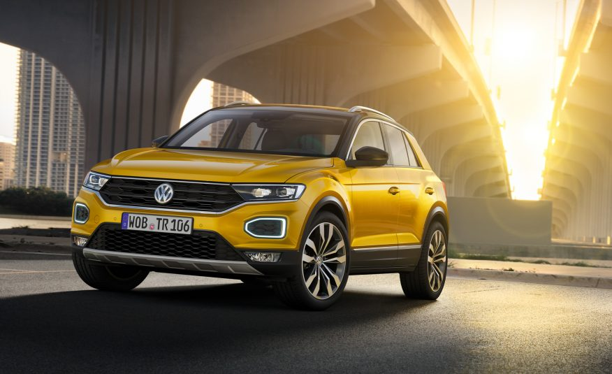 VW Just Announced the New T-Roc Crossover SUV For 2019