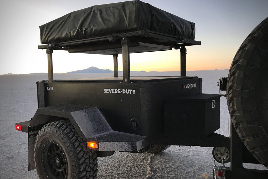 Xventure XV-3 Off Road Trailer Feat