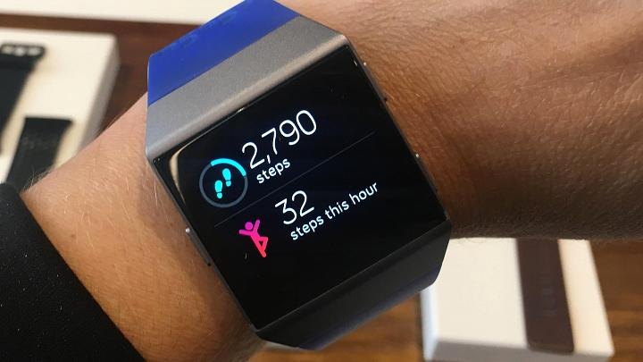 The FitBit Ionic Melds The Fitness Tracker with a Smartwatch