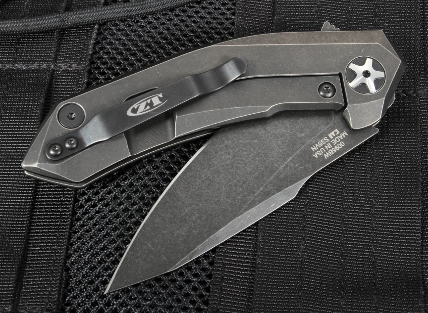 Zero Tolerance 0095BW Titanium Knife