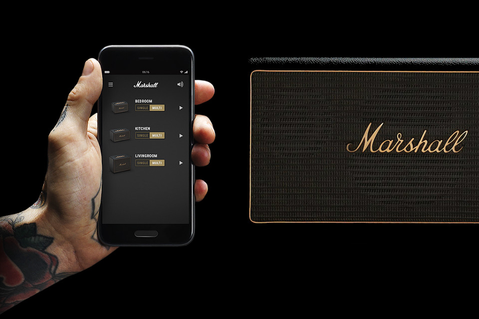 Marshall Multi-Room Wireless Speakers Build Off Each Other