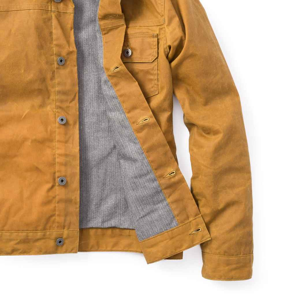 Flint and Tinder Waxed Trucker Jacket: Iconic Looks Meet Durable Quality