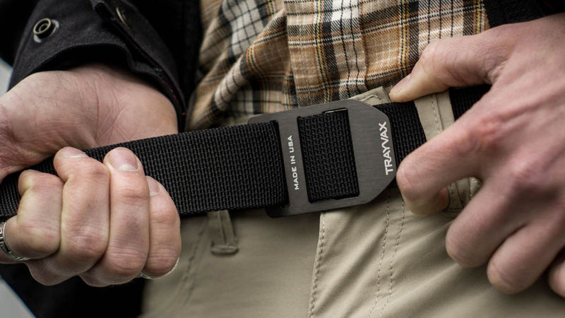 Trayvax Cinch Belt: Infinitely Adjustable for All Your Gear–and Weight Gain