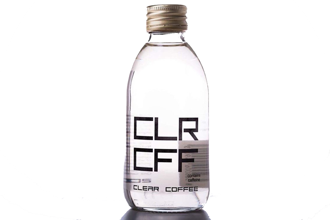 clear coffee bottle