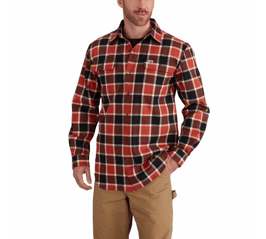 Carhartt Hubbard Plaid Flannel Shirt: Not Just for the Lumberjack