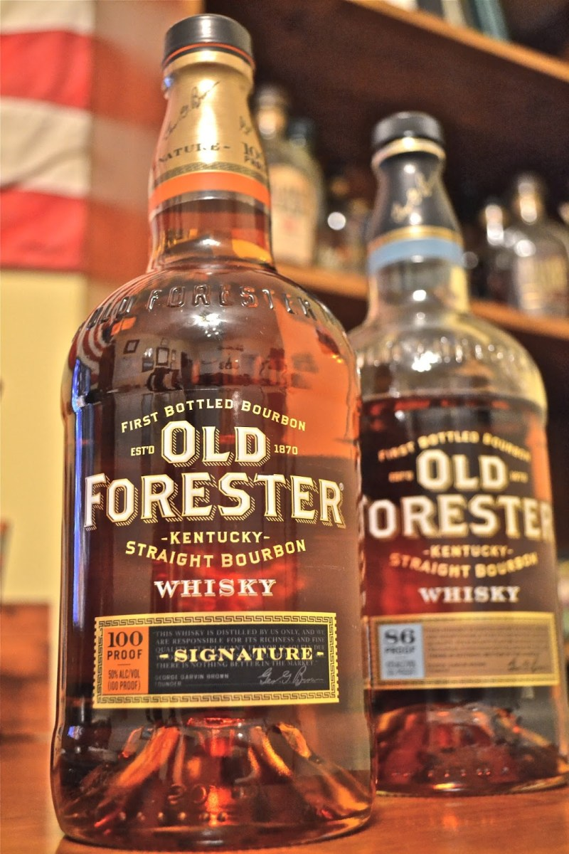 Old Forester Signature Bourbon: Classic Bourbon With A Toffee Finish