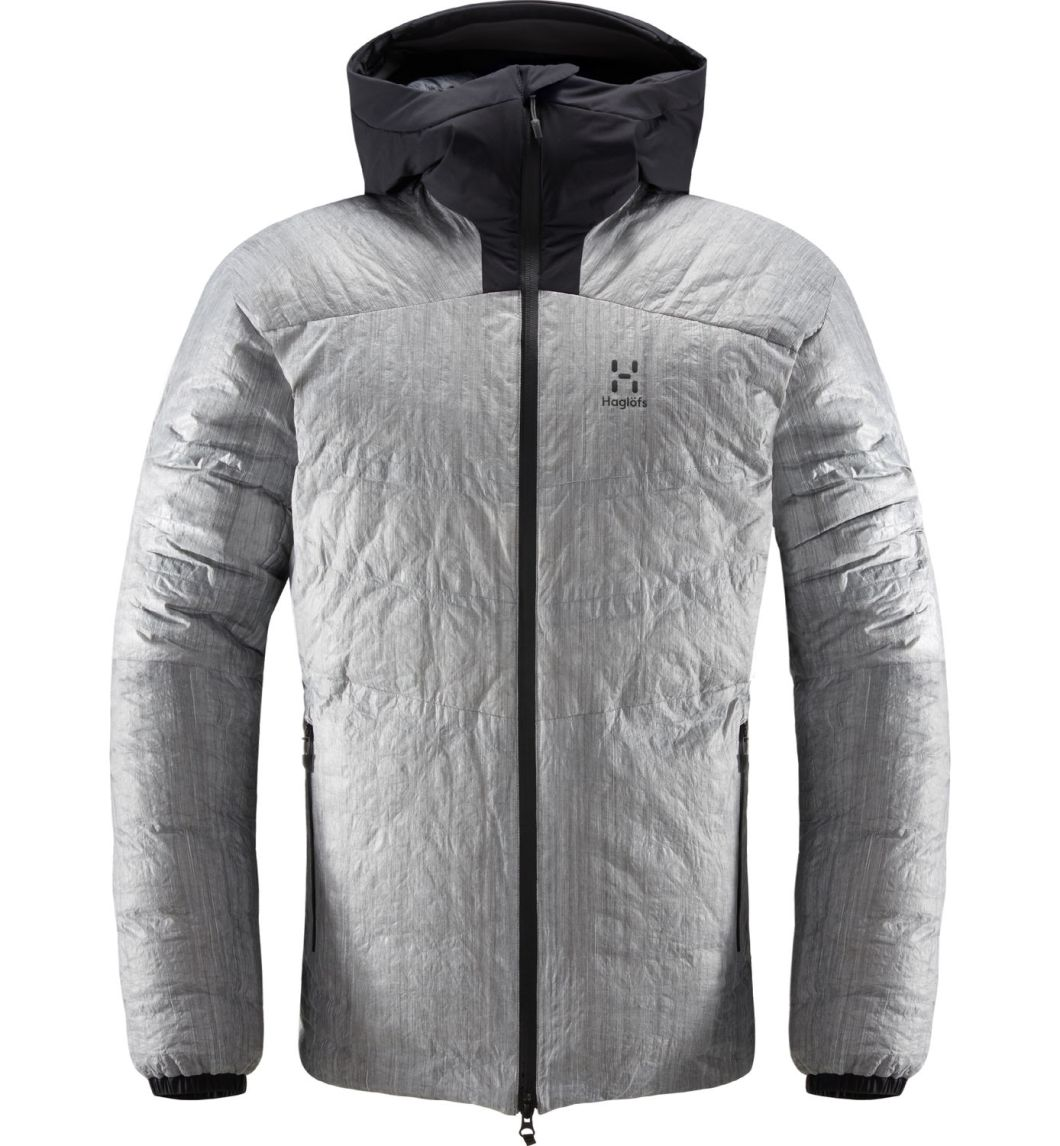 Haglofs V-Series Down Jacket: Made with Dyneema