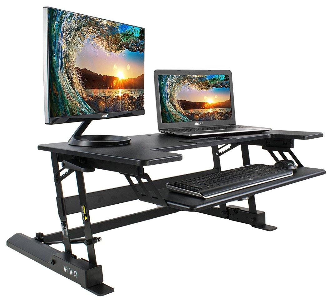This Standing Desk Converter Alternative to the VariDesk Rocks