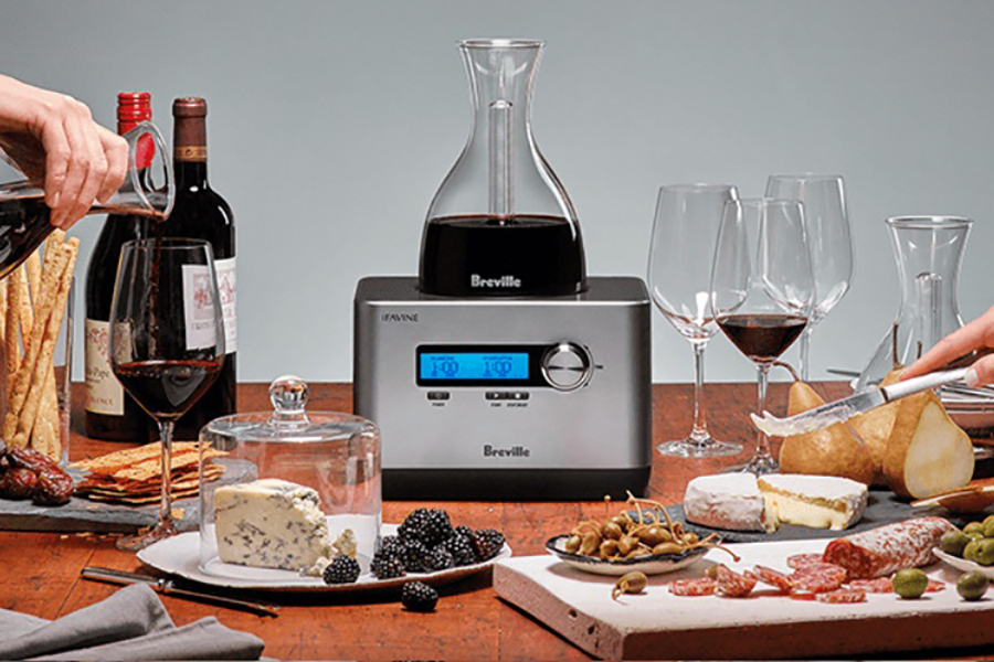 Gift Idea: Breville Sommelier: Decant Your Wine Quickly and Easily