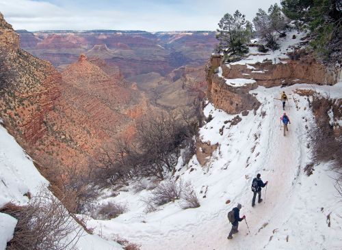grand canyon winter backpacking destination