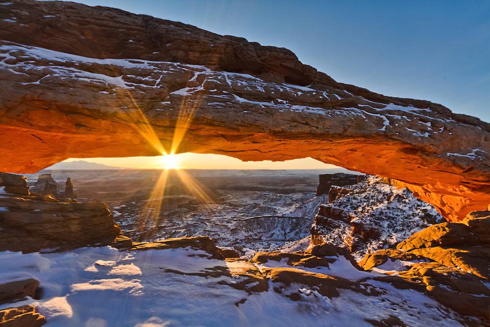 Winter Hiking Destinations: Canyonlands National Park