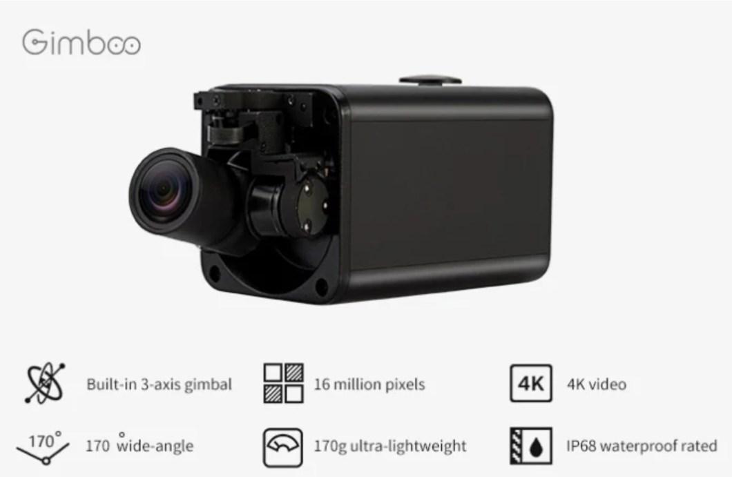 The GimbalCam Self-Stabilizing Camera