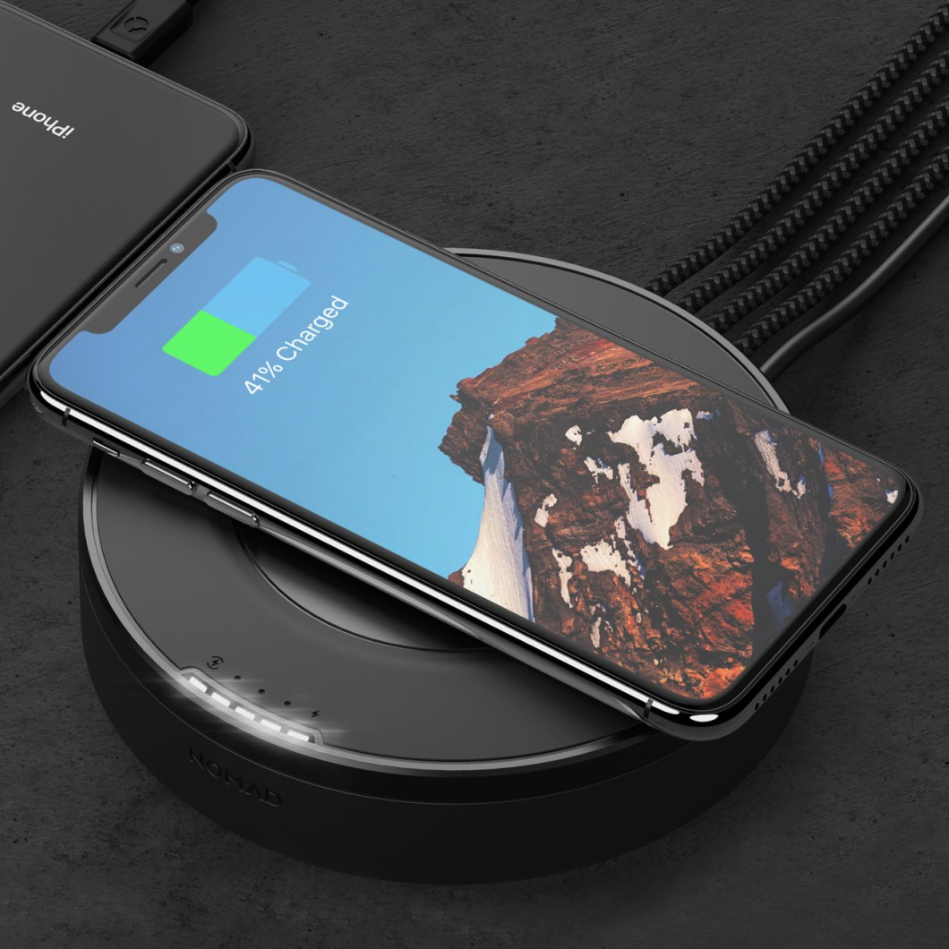 Nomad USB Hub: Charge Wirelessly Right On Your Desk