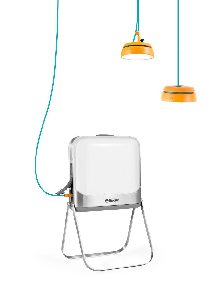 The Biolite BaseLantern XL: Small, Portable Flatpack Lantern