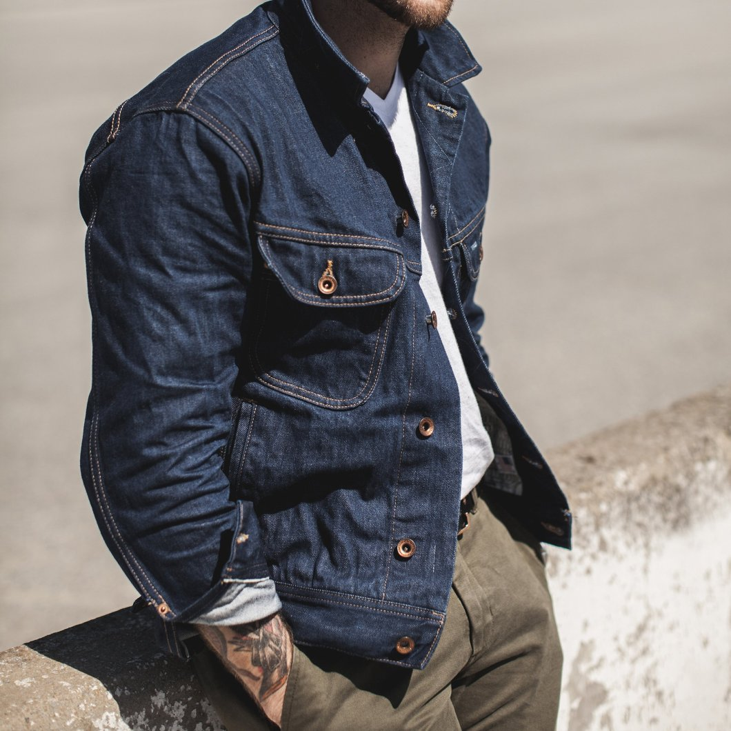The Taylor Stitch Long Haul Jacket in 110-Year Denim Is As Good As It Gets