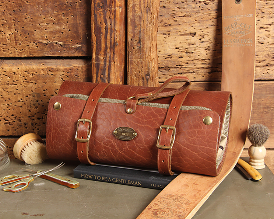 Col. Littleton Leather Dopp Kit