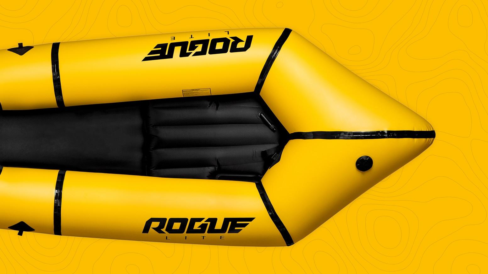 Rogue Packraft Yellow Banner