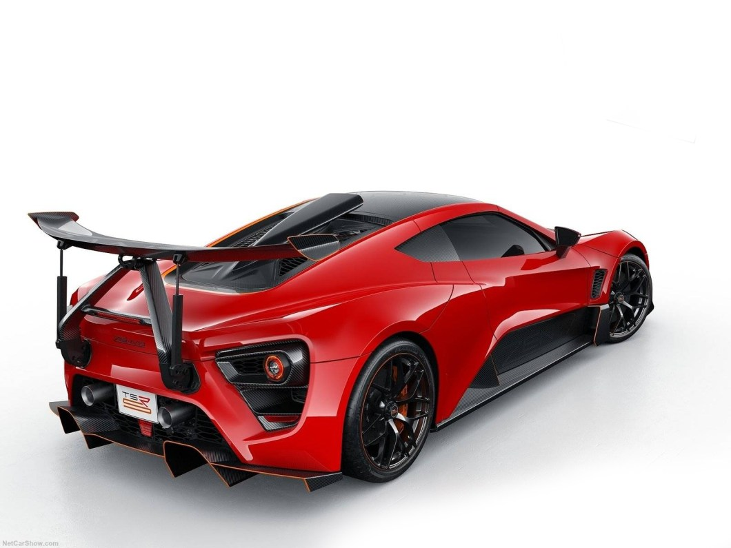 The Zenvo TSR-S is 1177 HP of Street Legal Racing Car
