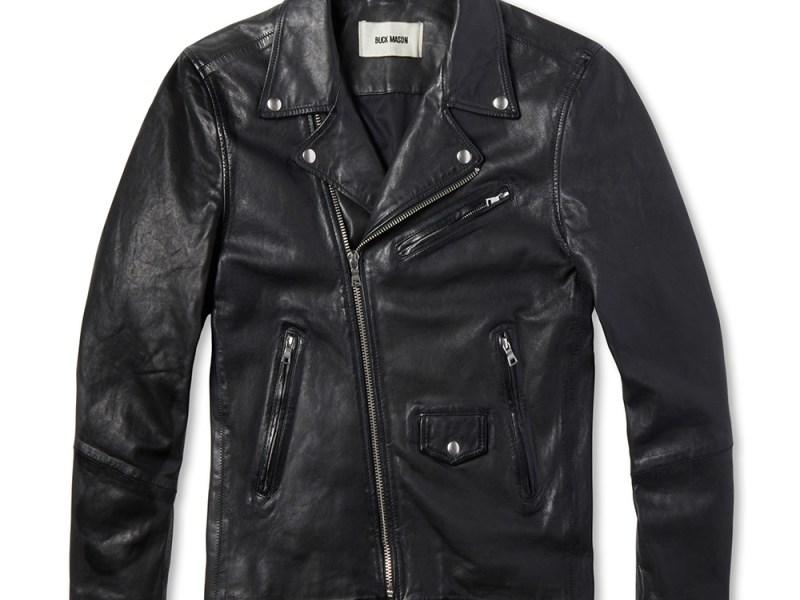 Buck Mason Bruiser Leather Jacket