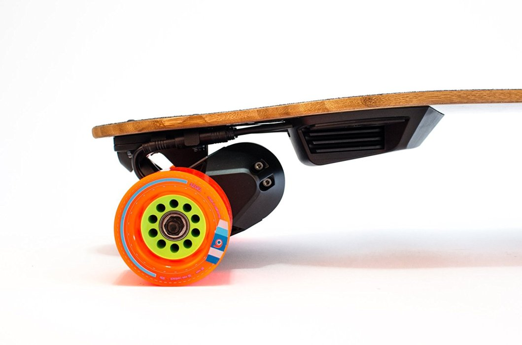 The Boosted Plus Goes 22 Miles An Hour