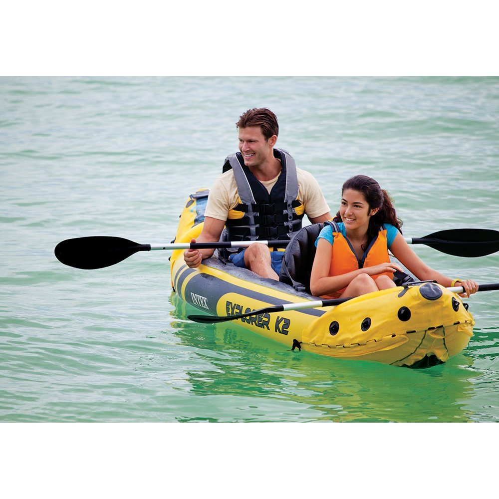 This Inflatable Kayak Costs Less Than A Pair Of Running Shoes