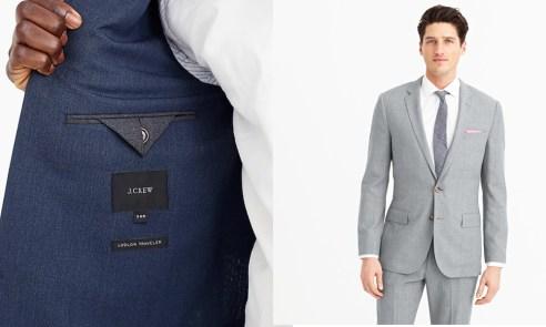 J Crew Traveler Suit