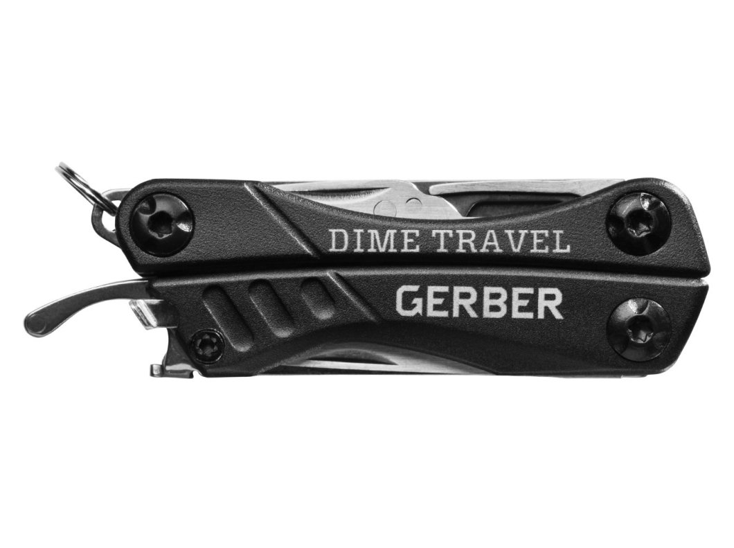 Gerber Dime Travel Keychain Multitool: Built For Travel