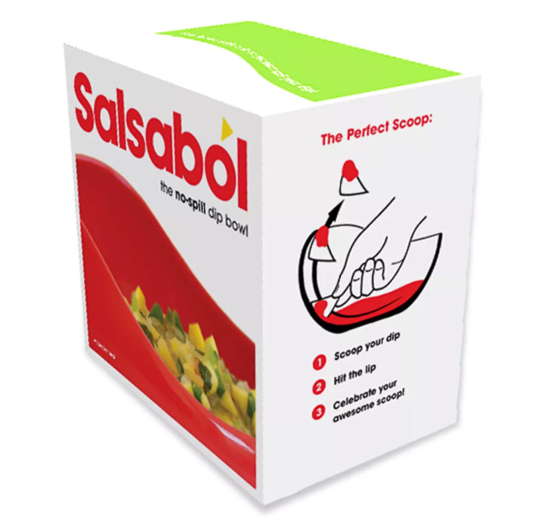 The SalsaBol Will Help You Avoid Spilling Salsa And Breaking Chips