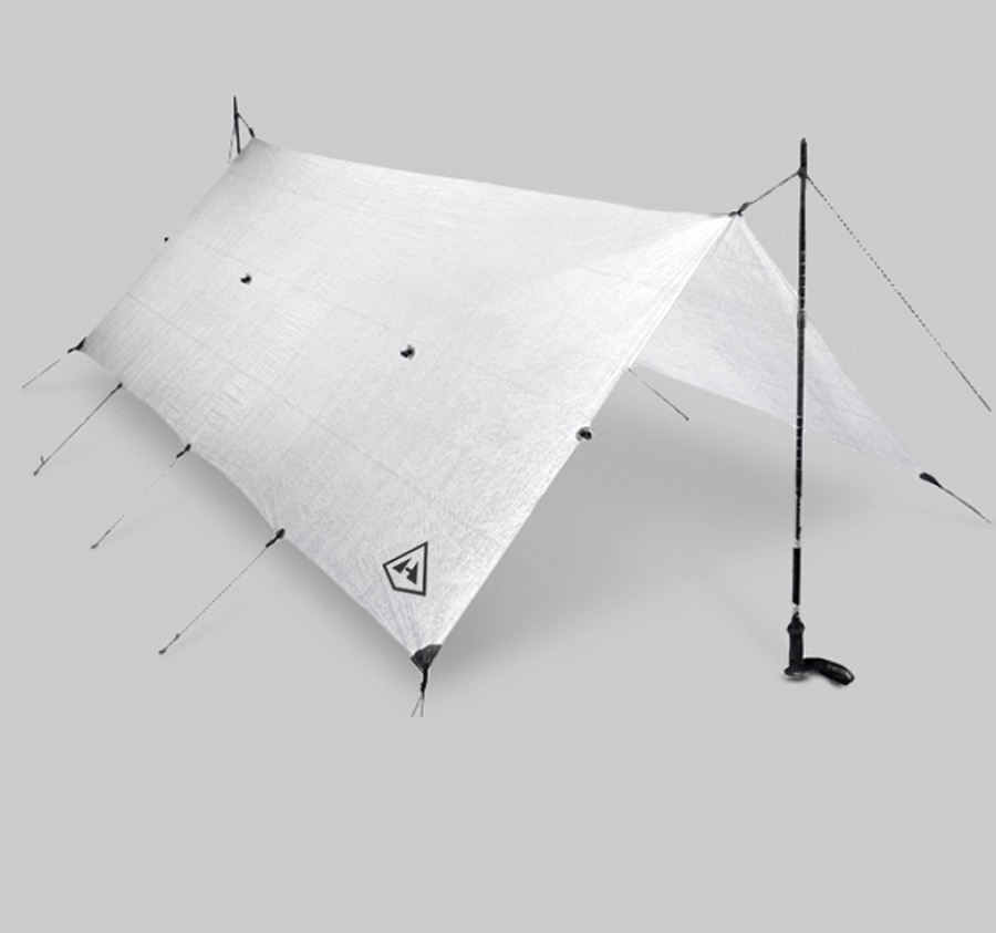 At Half A Pound, The Hyperlite Flat Tarp Is The Lightest Shelter In Existence