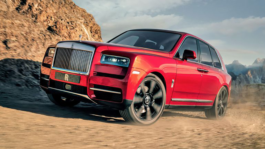 Rolls-Royce Unveils It's First SUV – The Cullinan