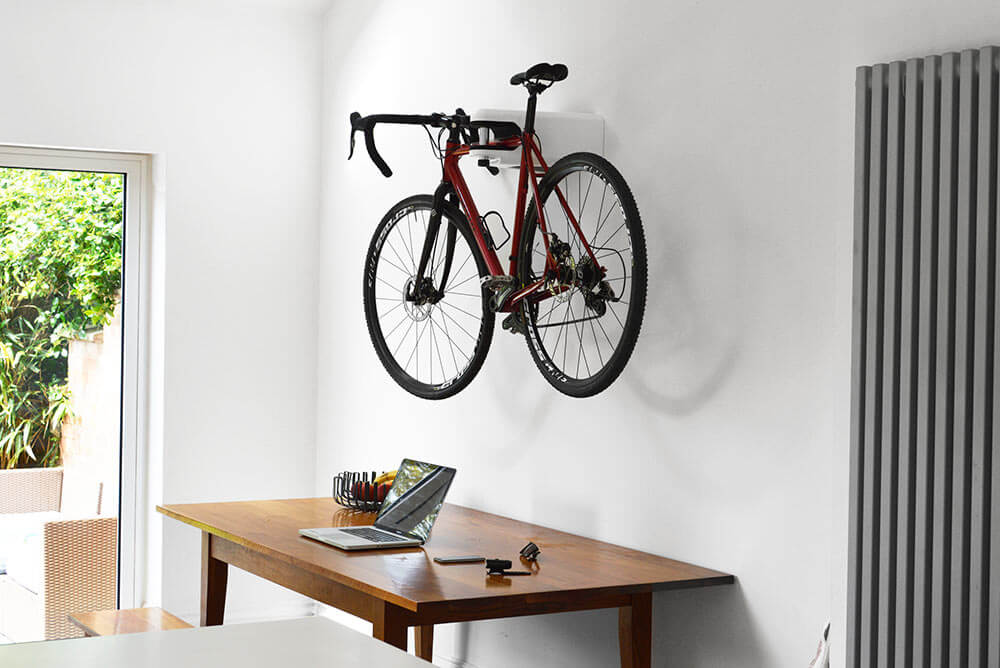 The Hiplok Airlok Is The High-End Bike Mount For Your Home