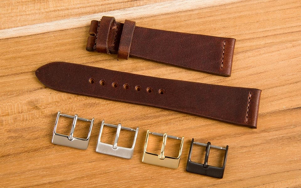 These Made-in-America Crown and Buckle Watch Straps Are Gorgeous
