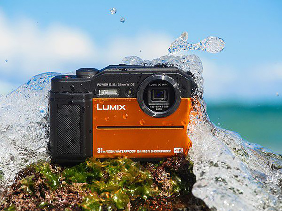 The Panasonic Lumix TS7 Shoots in 4k And Can Dive Over 100 Feet Down