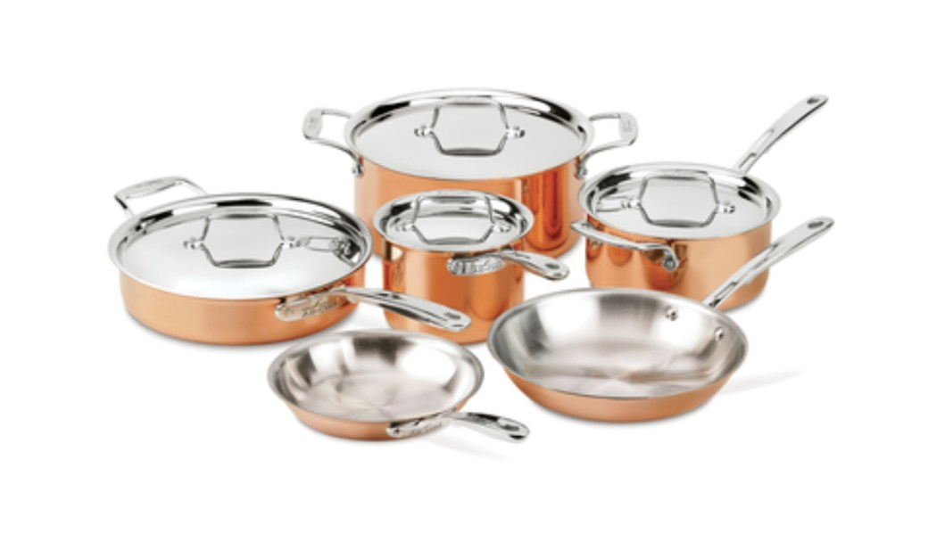 Have a Lot of Money To Spend On Cookware? This Copper-Infused Collection From All-Clad Fits The Bill