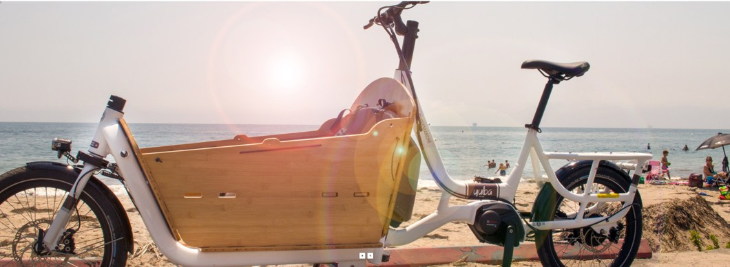 The Electric Supermarche Cargo Bike Has A 300lb Payload