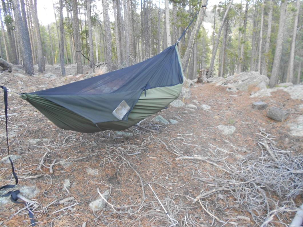 Warbonnet Blackbird: Thick, Durable Camping Hammock With Comfortable Shape