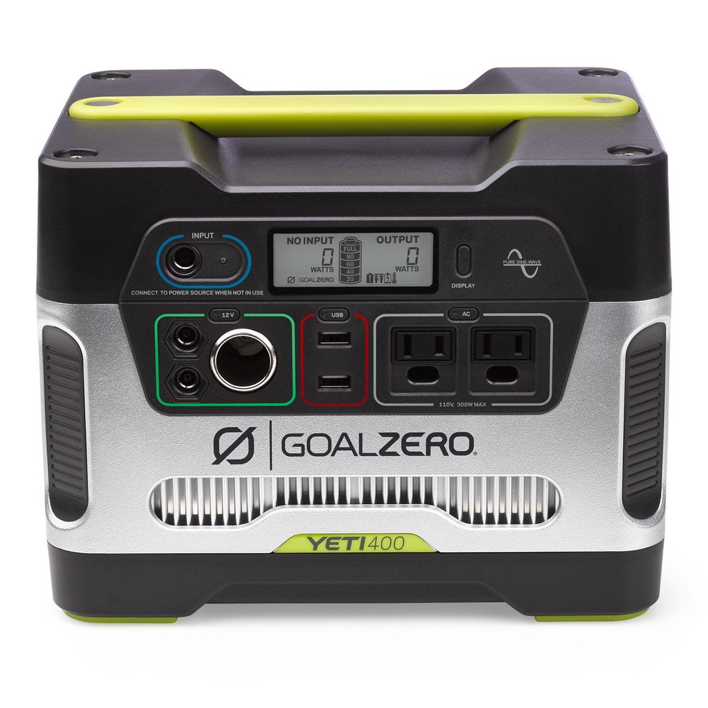 Best Portable Power Station 2018: Goal Zero Yeti 400